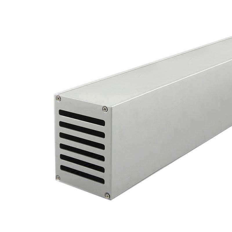 Perfil aluminio DRIVER BOX, 1 metro